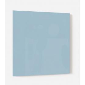 Fond de hotte uni bleu clair iceberg