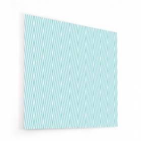 Fond de hotte diagonales scandinaves bleues