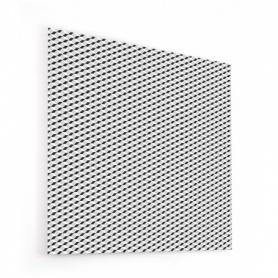 Fond de hotte noir et blanc, effet illusion d'optique