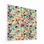 Fond de hotte triangles multicolores