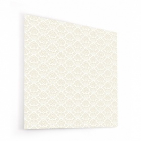 Fond de hotte effet tapisserie vintage beige