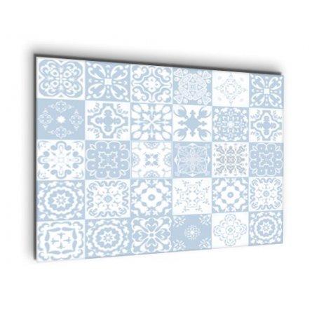 Crédence de cuisine carreaux mosaïque bleu marin