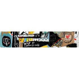"Frise, Crédence ""Mur graffiti"""