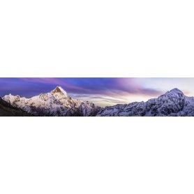 """Frise, Crédence """"Panorama de l'Annapurna sanctuaire de l'Himalaya, Népal"""""""