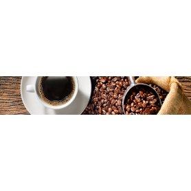 """Frise, Crédence """"Sac de grains de café"""""""
