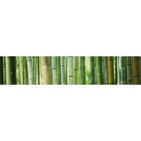 """Frise, Crédence """"Bosquet de bambou"""""""