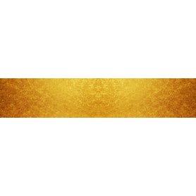 """Frise, Crédence """"Texture feuille d'or"""""""