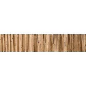 """Frise, Crédence """"Texture de bambou"""""""