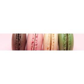 """Frise, Crédence """"Macarons multicolores"""""""
