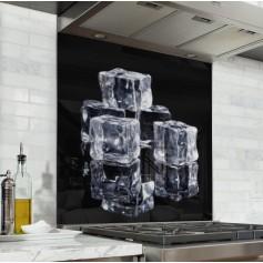 """Fond de hotte """"Cube de glace, glaçons"""""""