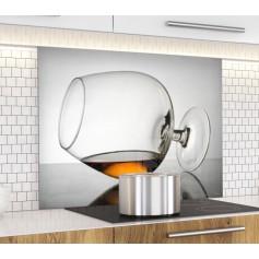 """Fond de hotte de cuisine """"Verre à Cognac"""""""
