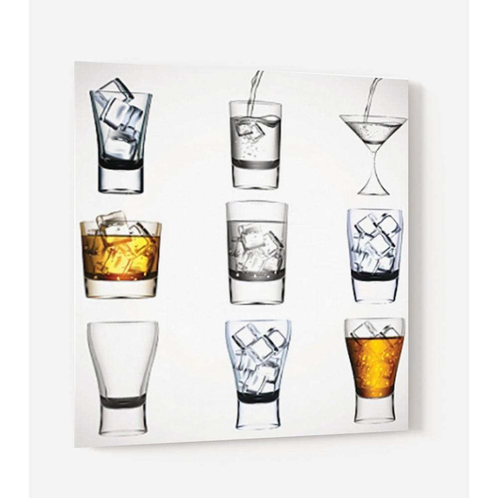 Fond de hotte types de verres verre et alu credence for Type de hotte de cuisine
