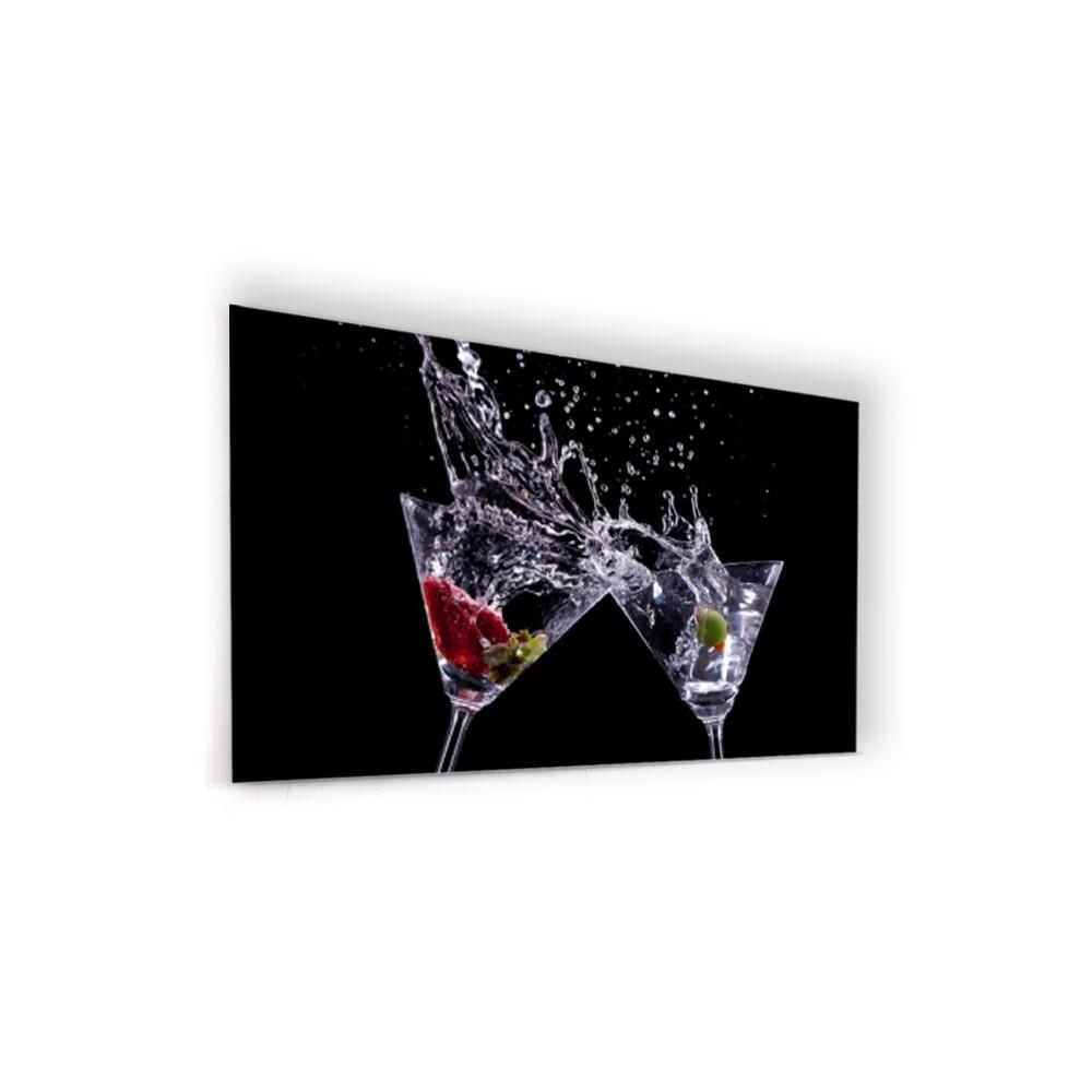 acheter fond de hotte cr dence de cuisine cocktail verre. Black Bedroom Furniture Sets. Home Design Ideas