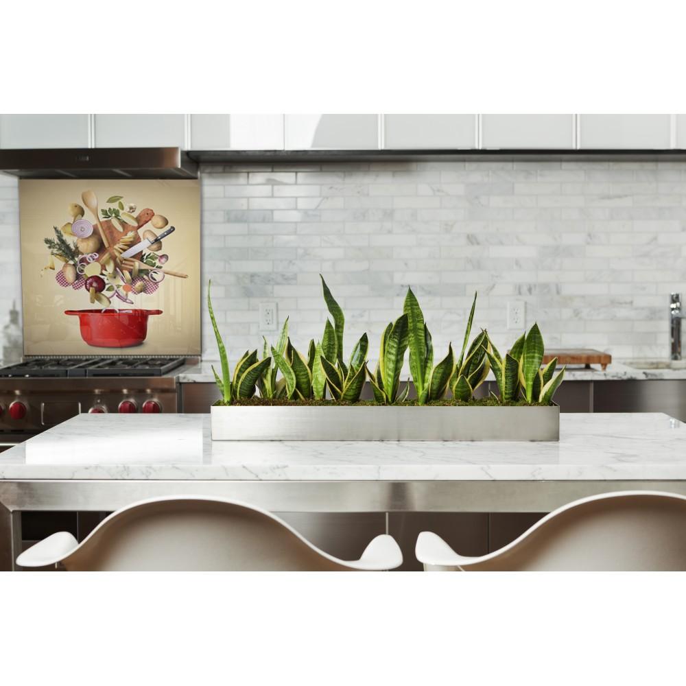 fond de hotte ingr dients cuisine verre alu credence cuisine deco. Black Bedroom Furniture Sets. Home Design Ideas