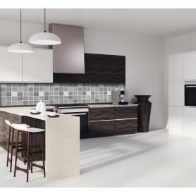 cr dence cuisine adh sive imitation carreaux de ciment. Black Bedroom Furniture Sets. Home Design Ideas