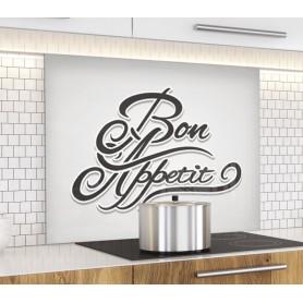 """Fond de hotte de cuisine """"Bon Appétit"""""""
