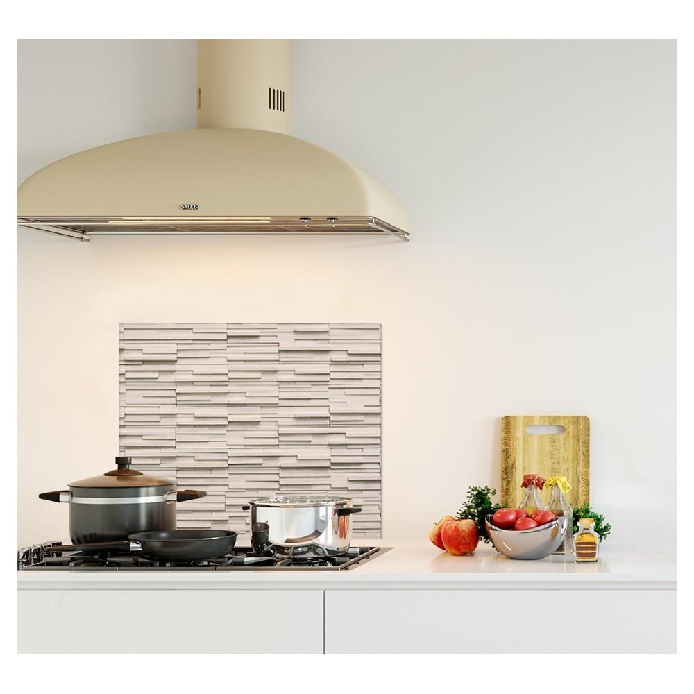 Mur de cuisine perfect cuisine sur un pan de mur with mur - Cuisine sur un pan de mur ...