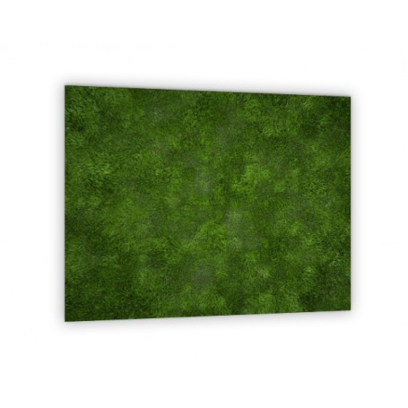 Crédence de cuisine avec effet texture gazon vert