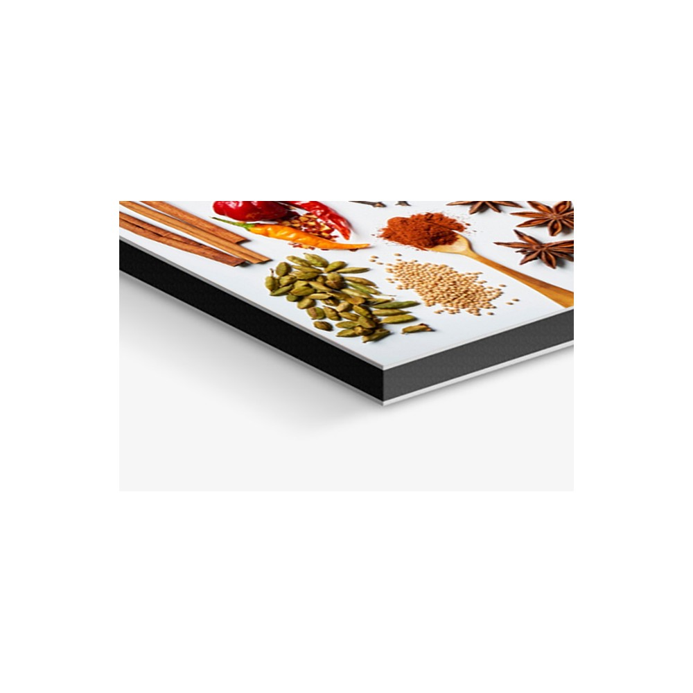 Cr dence saveurs et pices verre et alu credence for Epices de cuisine