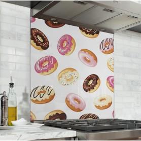 """Fond de hotte """"Motif donuts"""""""