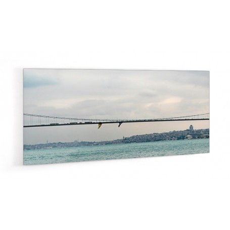 Crédence de cuisine paysage pont Fatih Sultan Mehmet, Instanbul