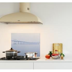 Crédence de cuisine vue panoramique pont Hong Kong