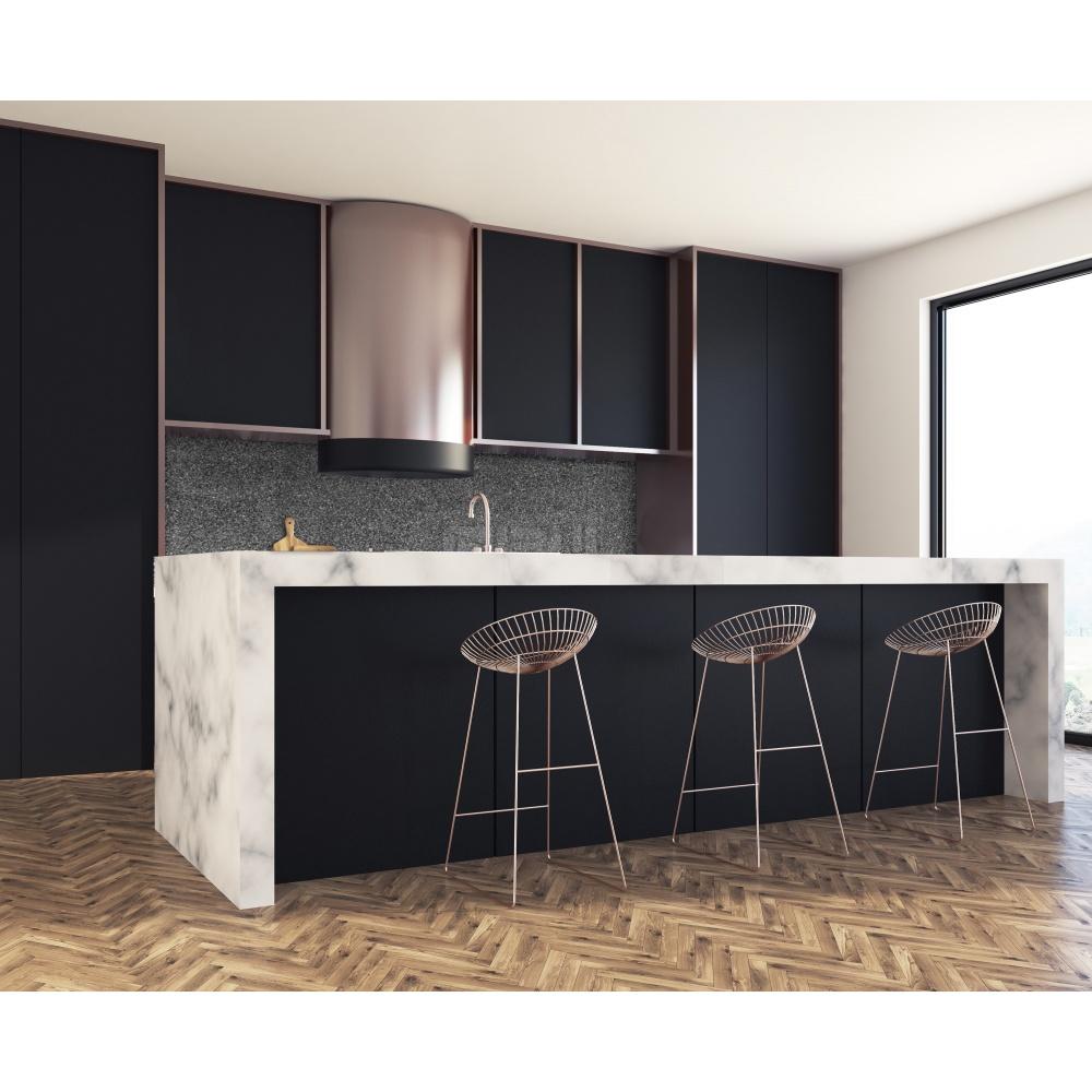 cr dence fond noir gris verre et alu credence. Black Bedroom Furniture Sets. Home Design Ideas