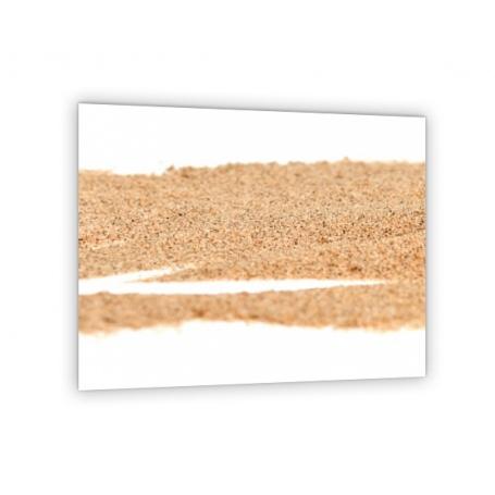 Crédence de cuisine effet sable