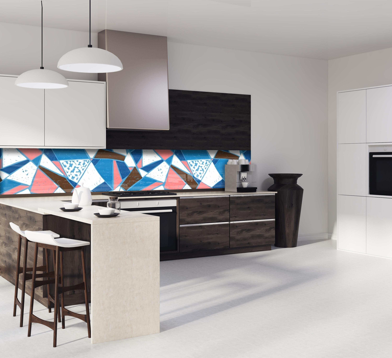 """Mosaique Pour Credence Cuisine crédence de cuisine """"mosaïque carreaux"""""""