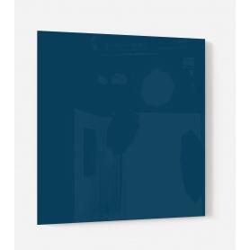 Fond de hotte uni bleu merlot