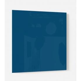 Fond de hotte uni bleu brut