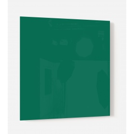 Fond de hotte uni vert émeraude
