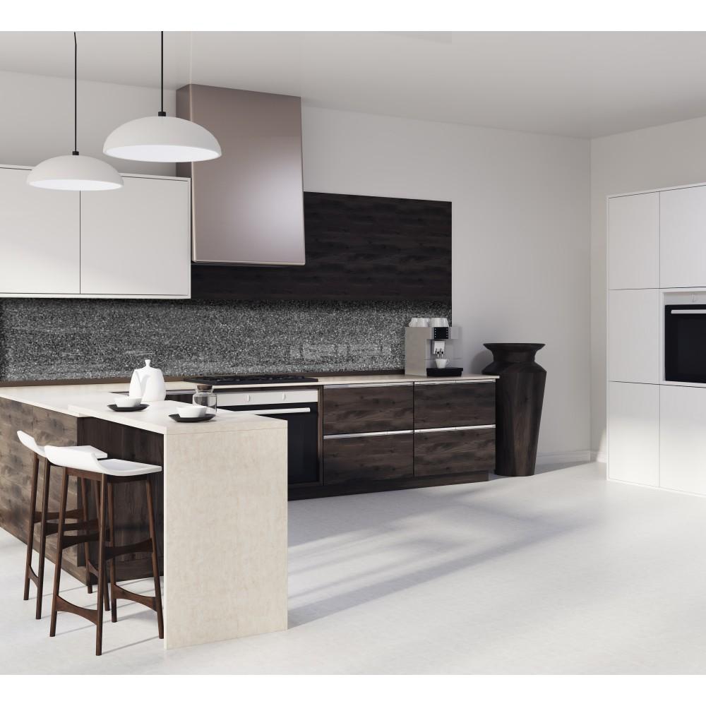 cr dence effet granit anthracite verre alu credence cuisine deco. Black Bedroom Furniture Sets. Home Design Ideas