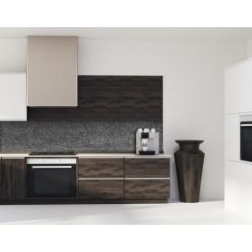 Crédence de cuisine effet granit gris anthracite
