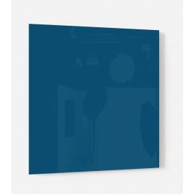 Fond de hotte uni bleu foncé Iode