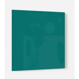 Fond de hotte uni vert malachite