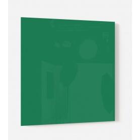Fond de hotte uni vert courge