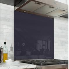 Fond de hotte uni violet obsidienne