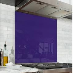 Fond de hotte uni violet vif, effet crocus
