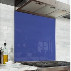 Fond de hotte uni violet bleuet