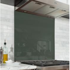 fond de hotte transparent verre et alu credence cuisine deco. Black Bedroom Furniture Sets. Home Design Ideas