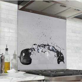 """Fond de hotte """"Abstrait, explosion peinture"""""""