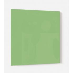 Fond de hotte uni vert clair, effet ciboulette