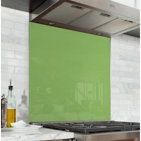 Fond de hotte uni vert feuillage
